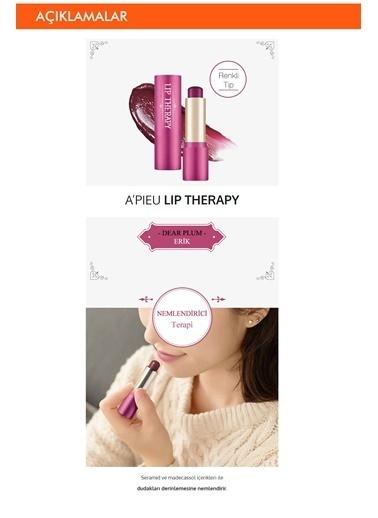Missha Apıeu Lip Therapy Dear Plum Nemlendirici Bakım Sağlayan Dudak Balmı Renksiz